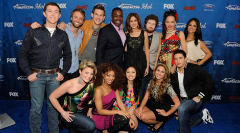 AMERICAN IDOL: Finalist Party - Finalists