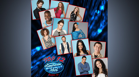 AMERICAN IDOL: Top 12 Compilation Album.
