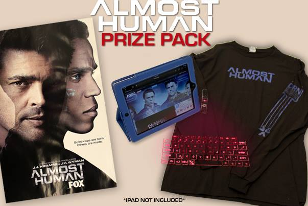 ALMOST HUMAN Prize Pack