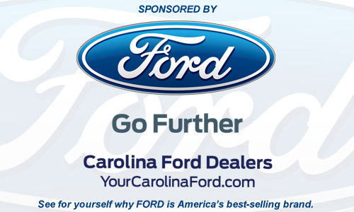 Sponsored by: Your Carolina Ford Dealers.  See for yourself why Ford is America's best-selling brand.