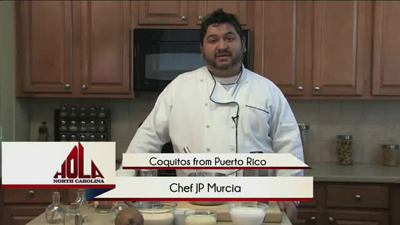 Cooking segment - Coquitos