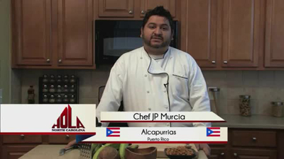 Cooking segment - Alcapurrias