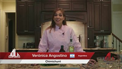 Cooking Segment – Argentinian sauces