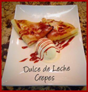 Cooking - Crepes with Dulce de Leche