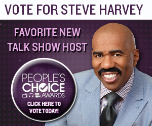 Vote for Steve Harvey!
