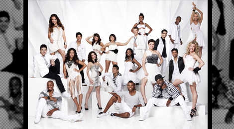 SO YOU THINK YOU CAN DANCE: The Season Eight Top 20 finalists.